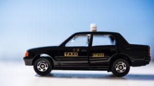 タクシーの英語